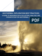 Geothermal Exploration Best Practices
