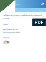 Weblogic Formatted