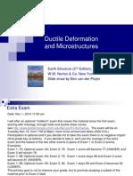 Ductile Deformation