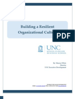 Building a Resilient Organizational Culture
