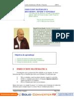 ALG III 2009-I - G2 - Induccion Recursion y Divide y Venceras