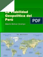 Alberto Bolivar Ocampo La Viabilidad Geopolitica Del Peru