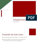 PPT grupos funcionales quimica organica