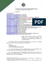 (LC n. 68 - Regime jurídico dos servidores de RO - atualizado até LC n. 694-2012 )