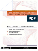 Portal de Problemas de Matematica de Calculo Diferencial e Integral Ll