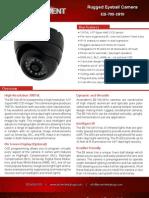 Rugged, Weather-Proof High-Resolution Day/Night Eyeball Camera with IR Illumination - Ascendent Technology Group - EB-700-2810