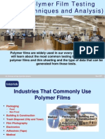 Polymer Film Testing