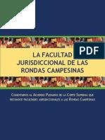 Facultad Jurisdiccional de Las Rondas Campesinas - Justicia Viva