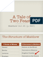 A Tale of Two Feasts