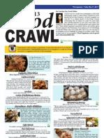 Food Crawl 2013