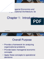 Ch001- Managerial Economics and Organizational Architecture