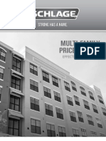 Schlage Residential Multi Family July 2013 Price Book