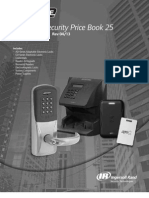 Schlage Electronic Security Price Book 2013