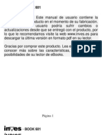 Inves Book-601 Manual ES