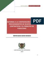 Reforma Contratacion Pública