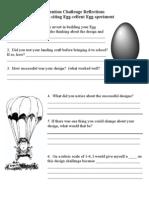 Egg Challenge Reflections