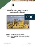 Manual de Instruccion Tecnica de Tractor Oruga D8Tcaterpillar