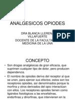 ANALGESICOS OPIODES