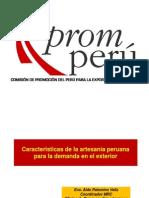 Promocion de Artesanias en Tingo Maria