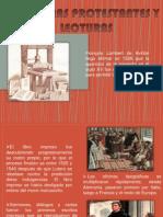Reformas y Protestantes
