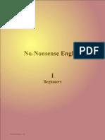 No-Nonsense English (I) v1.0 Lessons 1-14