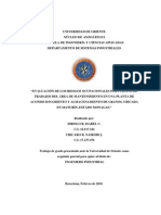Tesis.EVALUACIÓN DE LOS RIESGOS OCUPACIONALES