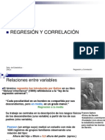 Clase Regresion y Correlacion