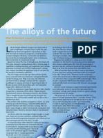 The Alloys of the Future