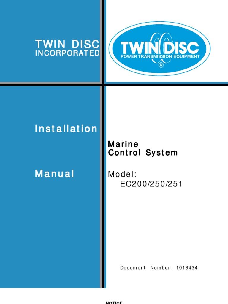 EC200 EC250 EC251 Installation 1018434_RF_0306_CD | Electrical ...