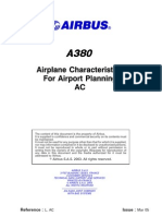 A 380 Characteristics for Airport Planning