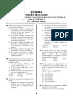 Configuracion Electronica, Numeros Cuanticos y Tabla Periodica.