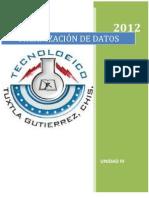4to Organizacion de Datos UNIDAD III