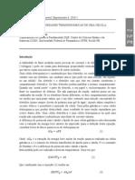 Físico Química Experimental RELATÓRIO 6(modelo para relatórios de físico química)cópia