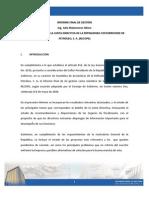 Informe Fin Gestion Ing Julio Matamoros Alfaro