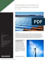 Mfg Sustainability Whitepaper
