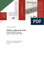 Ortega, Chaparro, Nacimiento Opinion Publica 1785-1830