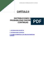 3 Distribuciones de Probabilidad Discretas y Continuas