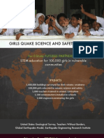 Global Science and Safety Initiative for Girls Brochure