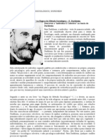 Resumos as Regras Do Metodo Sociologico Durkheim