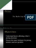 The Marketing Mix-Price