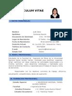 Curriculum Vitae Contreras Alarcon