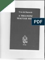 Yves de Daruvar - A Trianoni Magyar Sors