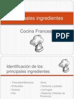 Principales Ingredientes Cocina Francesa