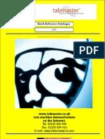 tabmaster catalogue 2009