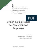 Medios de Comunicacion Impresos OFICIAL