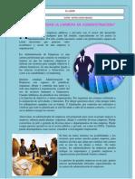 BOLETIN INFMATIVOLa carrera de Administración de Empresas