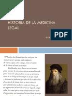 HistoriaMedicinaLegal Dr Benito Morales
