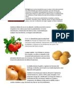 Plantas Alimenticias y Sus Utilidades