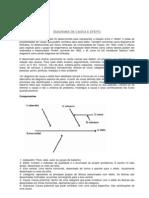Diagrama de Causa e Efeito II