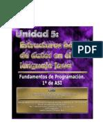 Fundamentos de Programación - 5 - Estructuras Básicas de Datos en Java